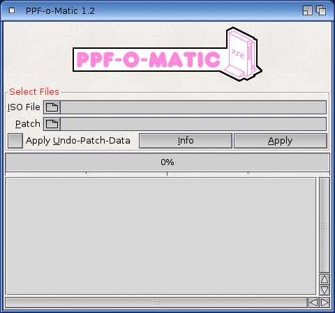 How to patch an iso with a ppf file.